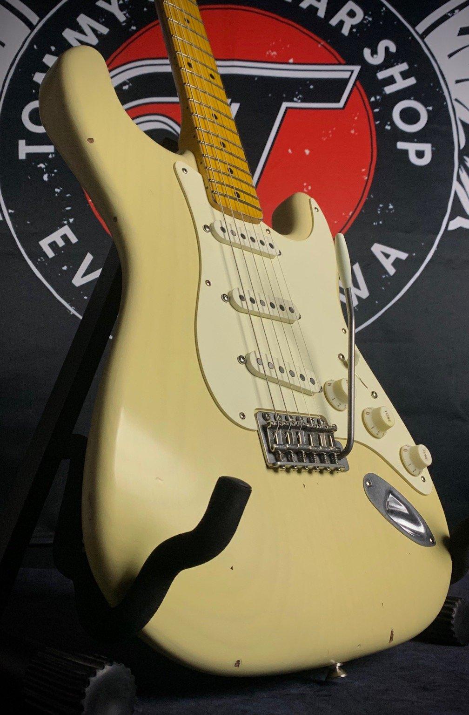 Nash Guitars S-57 Stratocaster Mary Kaye Blonde V Neck