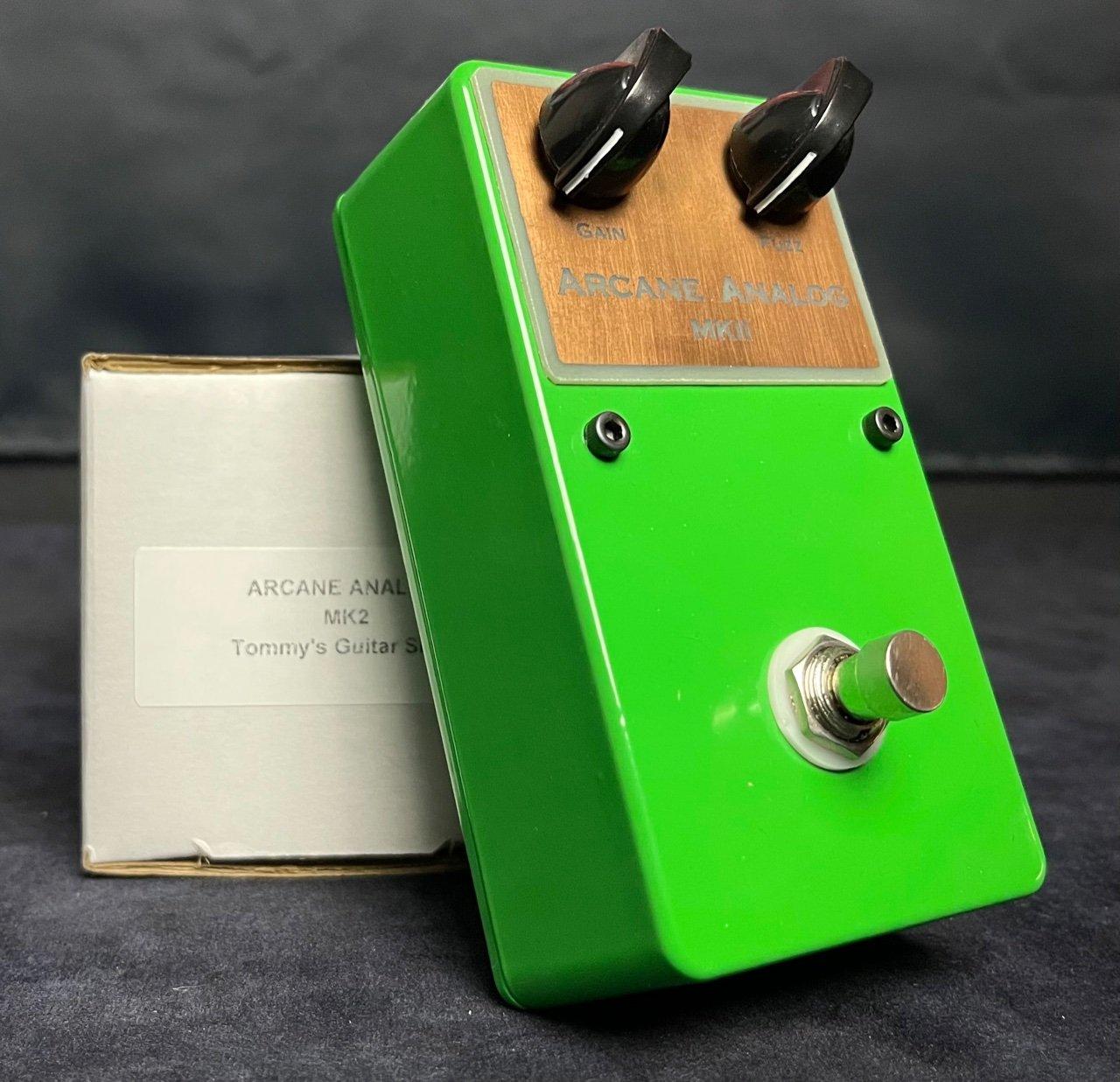 Arcane Analog Sola Sound MKII Tone Bender Hand Built on Perf-Board