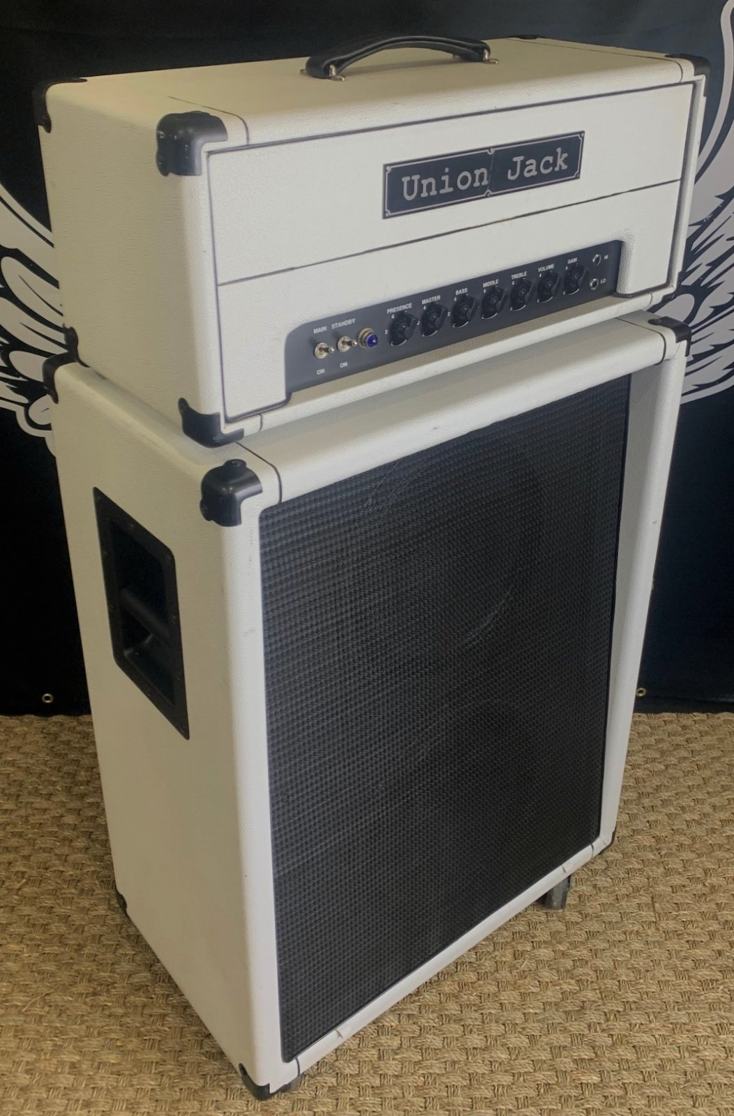 Union Jack The HG With Matching 2x12 Cabinet!