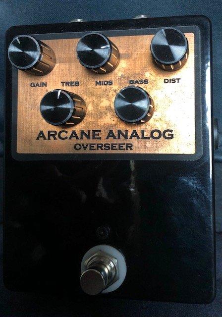 Arcane Analog Overseer - V1 Marsahll Guv'Nor Overderive Pedal