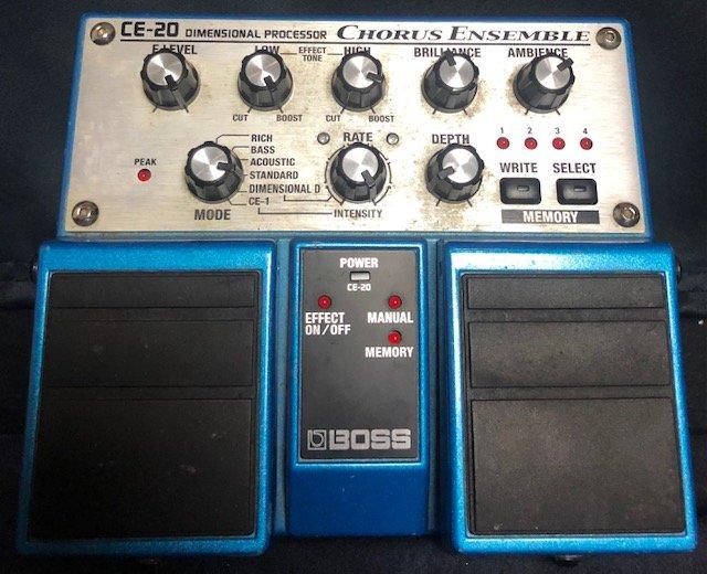 Boss CE-20 Chorus Pedal