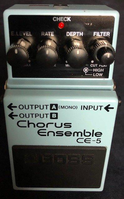 Boss Chorus Ensemble CE-5 Chorus Pedal