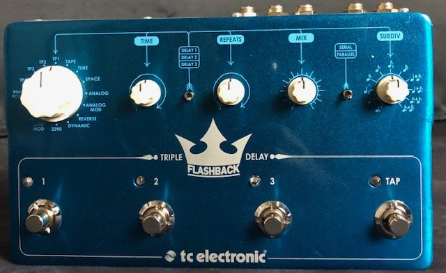 TC Electronic Triple Flashback Delay