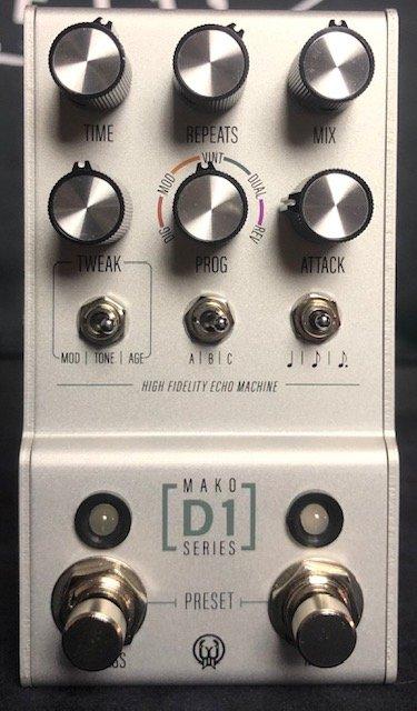 Walrus Audio Mako Series D1 Delay Pedal w/Bag