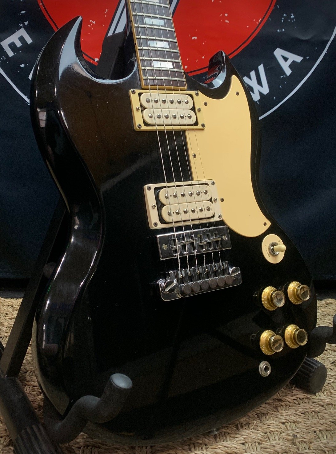 1979 Gibson SG Exclusive w/ohc and Warranty Card
