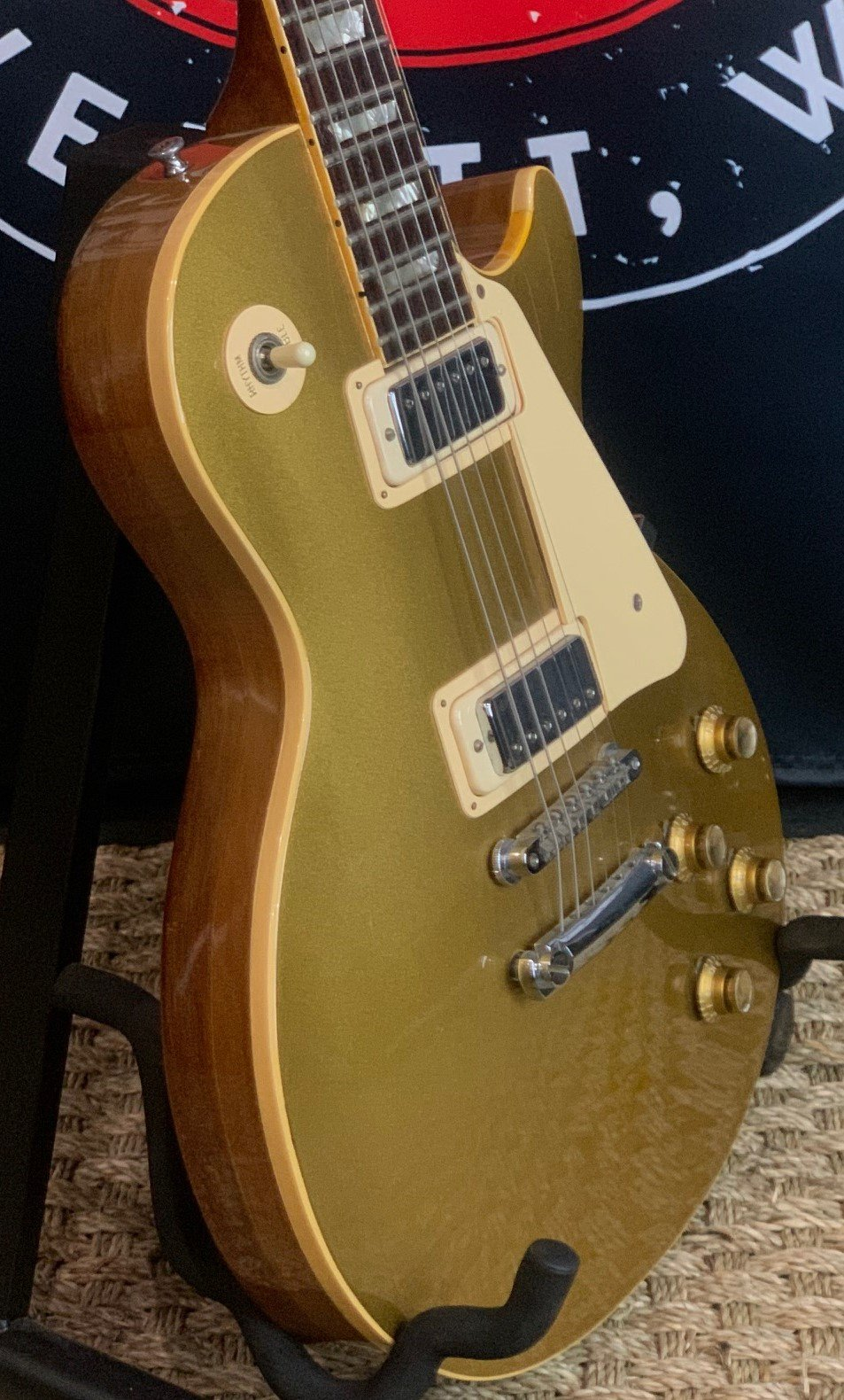 1970 Gibson Les Paul Deluxe Gold Top w/OHSC