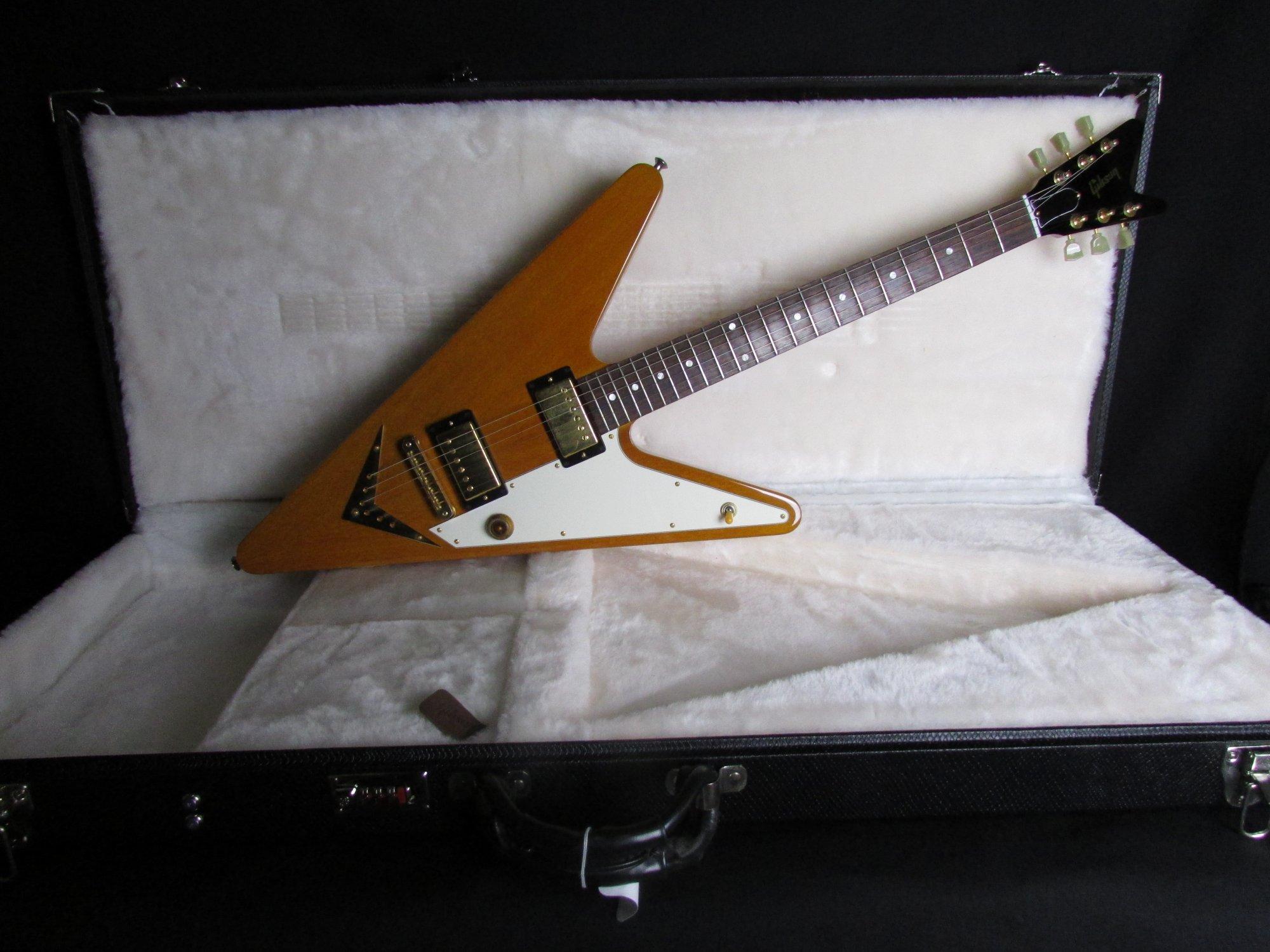 2008 Gibson Reverse Flying V GOW w/ohc