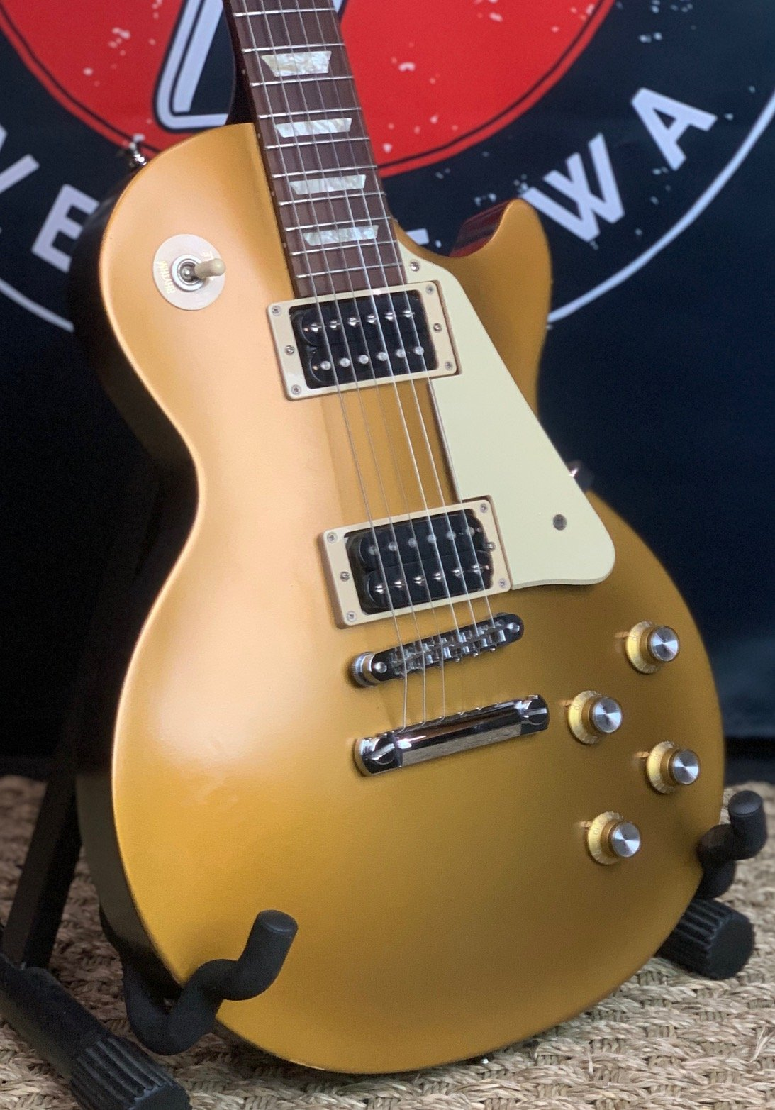 2012 Gibson Les Paul 50's Tribute Gold Top w/Premium Gibson Gigbag