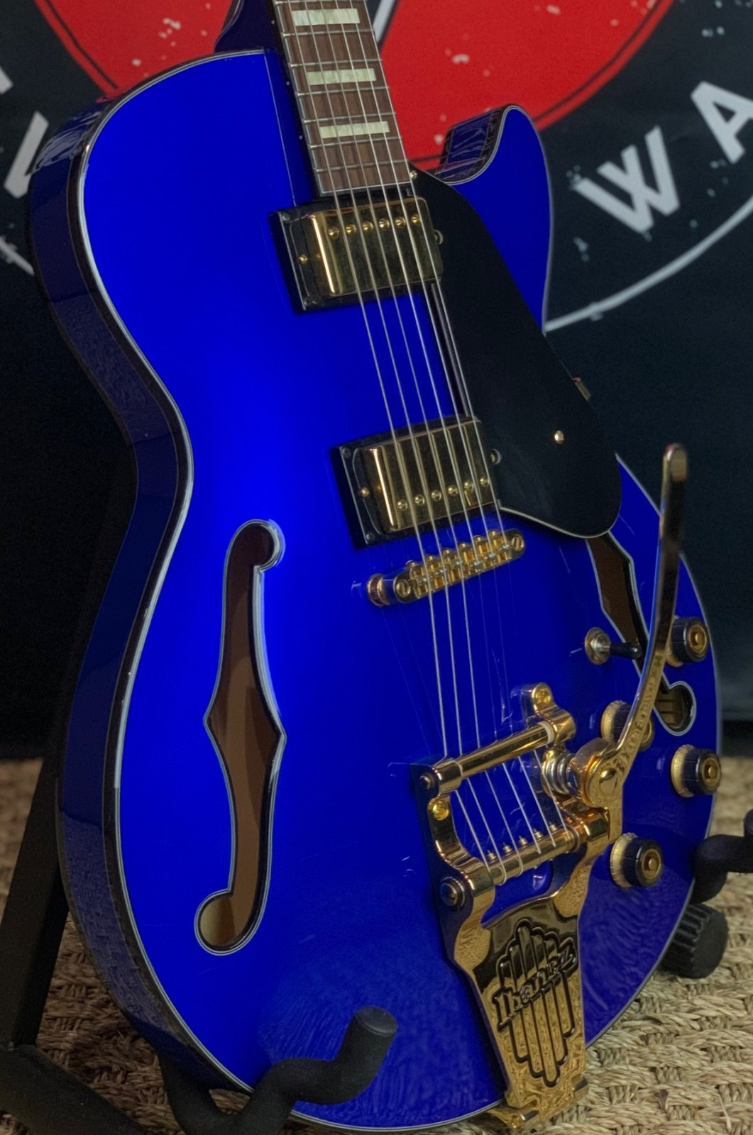 Ibanez AGS73TSLB Artcore Expressionist