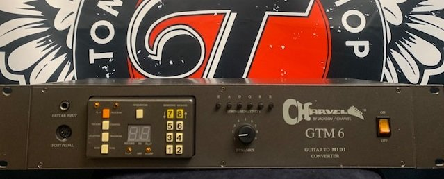 Charvel GTM6 Guitar to Midi Converter
