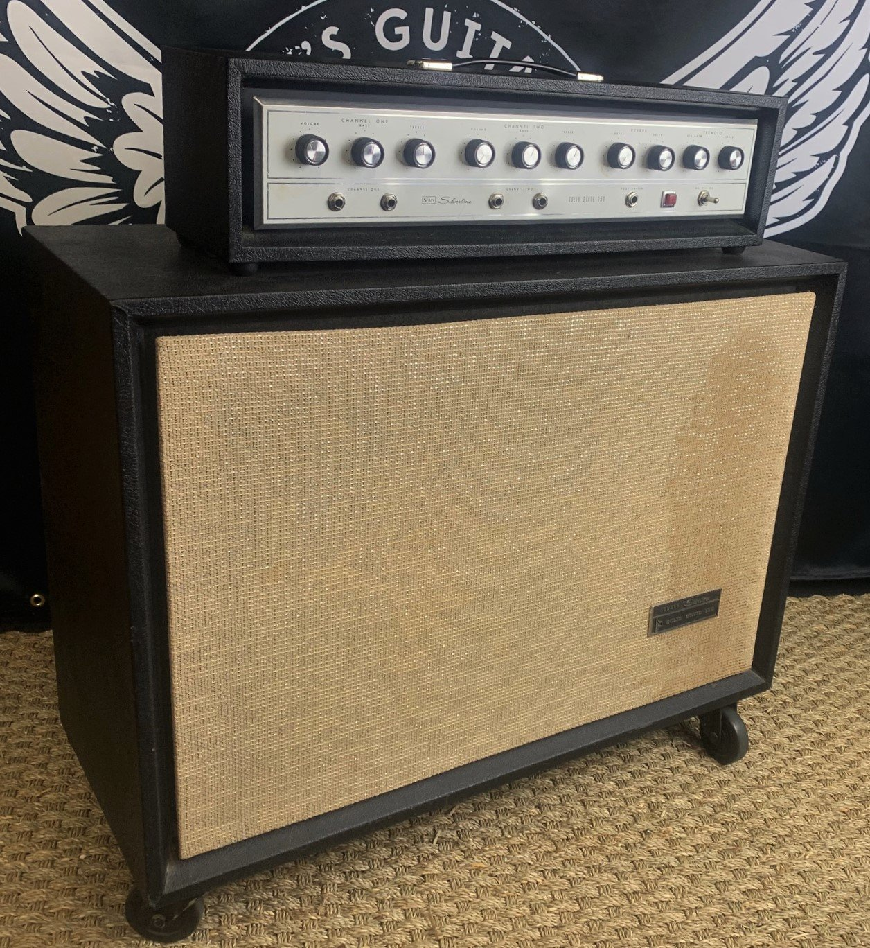 Sears Silvertone Solid State 150 w/Cabinet