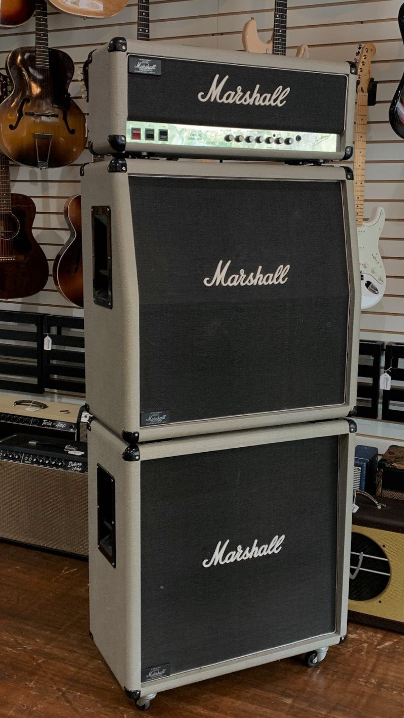 1987 Marshall JCM 25/50 Silver Jubilee Model 2550 w/2 Matching 4x12 Cabs