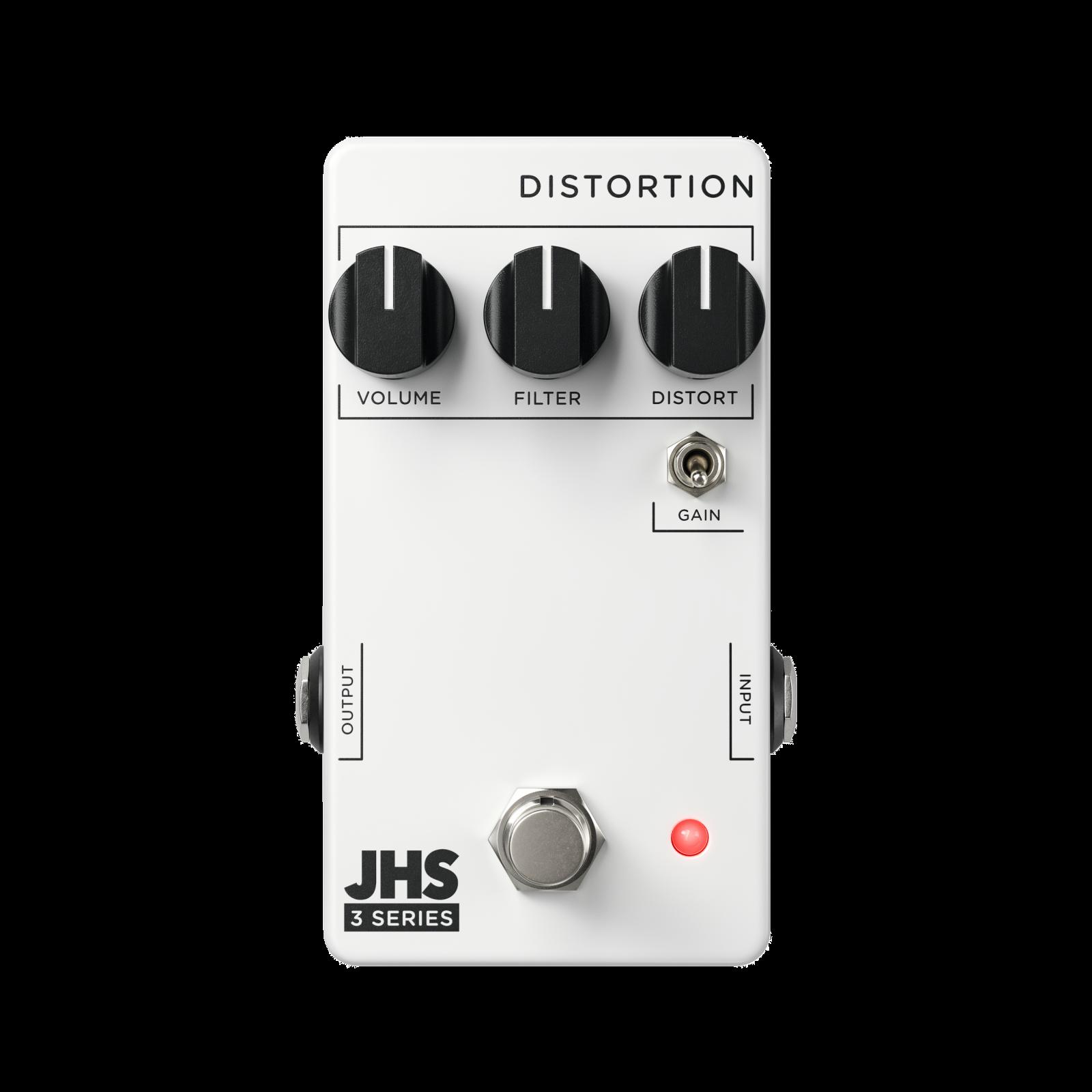 JHS 3 Series Distortion Pedal