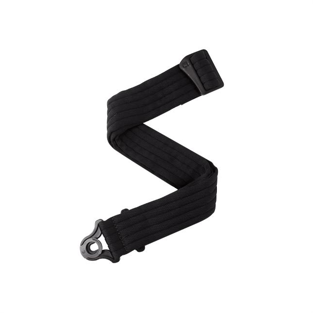 Daddario Auto Lock Guitar Strap, Black Padded Stripes