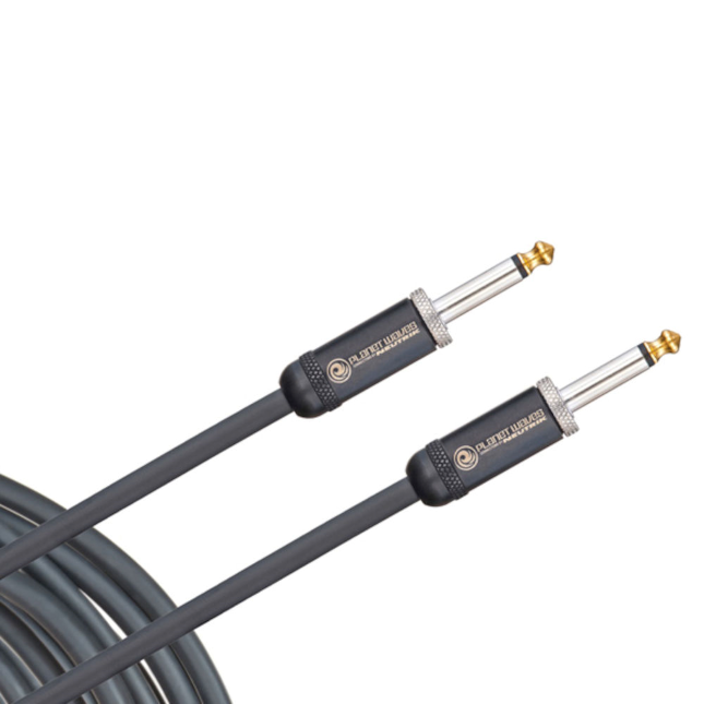 Daddario PW-AMSG-10 American Stage Straight to Straight Instrument Cable - 10 foot