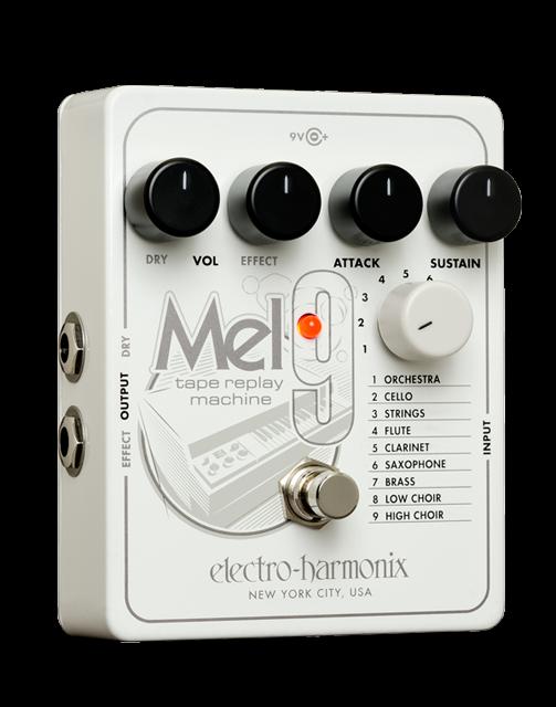 Electro-Harmonix Mel9 Tape Replay Machine Pedal