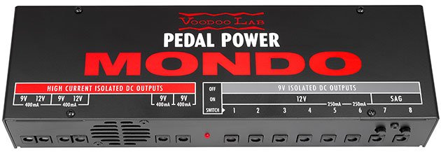 Voodoo Lab Pedal Power Mondo Large Scale Isolated Power