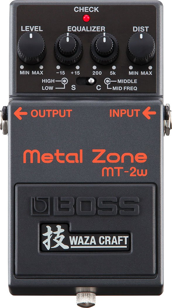 Boss MT-2W Waza Metal Zone Distortion Pedal