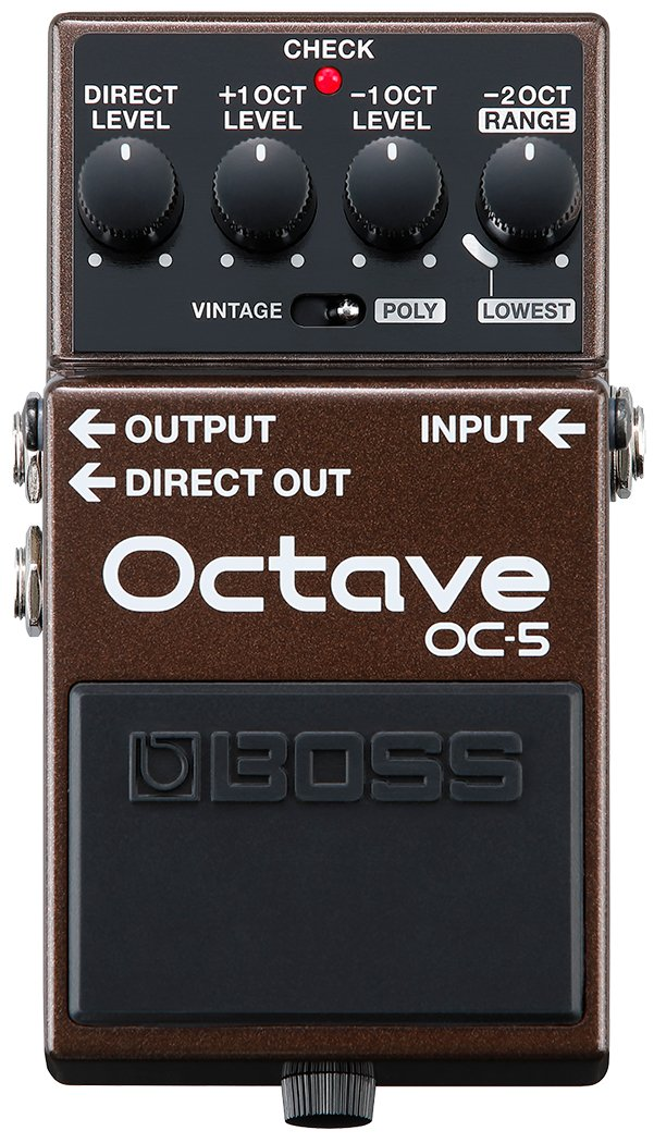 Boss OC-5 Next Generation Mono and Polyphonic Octave Pedal