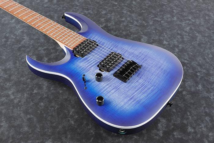 Ibanez RGA Standard RGA42FML - Electric Guitar - Blue Lagoon Burst Flat LEFT HAND