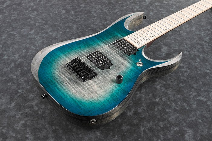Ibanez Axion Label RGD61AL -  Electric Guitar - Stained Sapphire Blue Burst Electric Guitar
