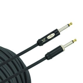 Daddario PW-AMSK-10 American Stage Straight to Straight Instrument Cable with Kill Switch- 10 foot