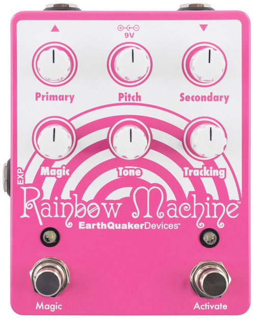 Earthquaker Devices Rainbow Machine Polyphonic Pitch Mesmerizer Pedal