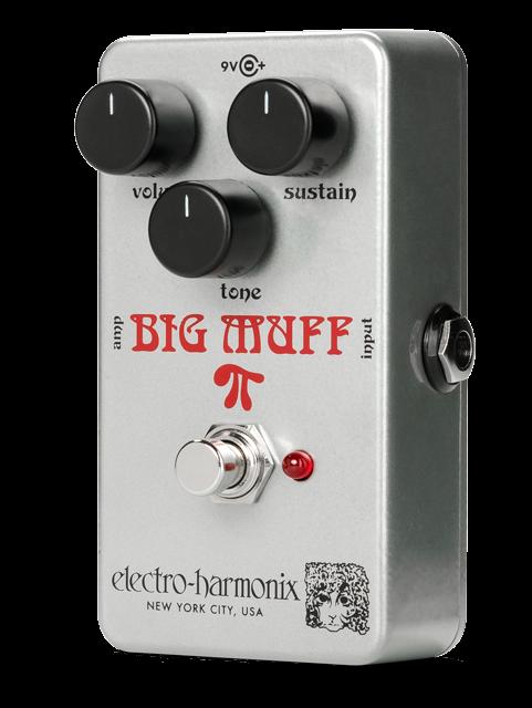 Electro-Harmonix Ram's Head Big Muff Pi Fuzz Pedal
