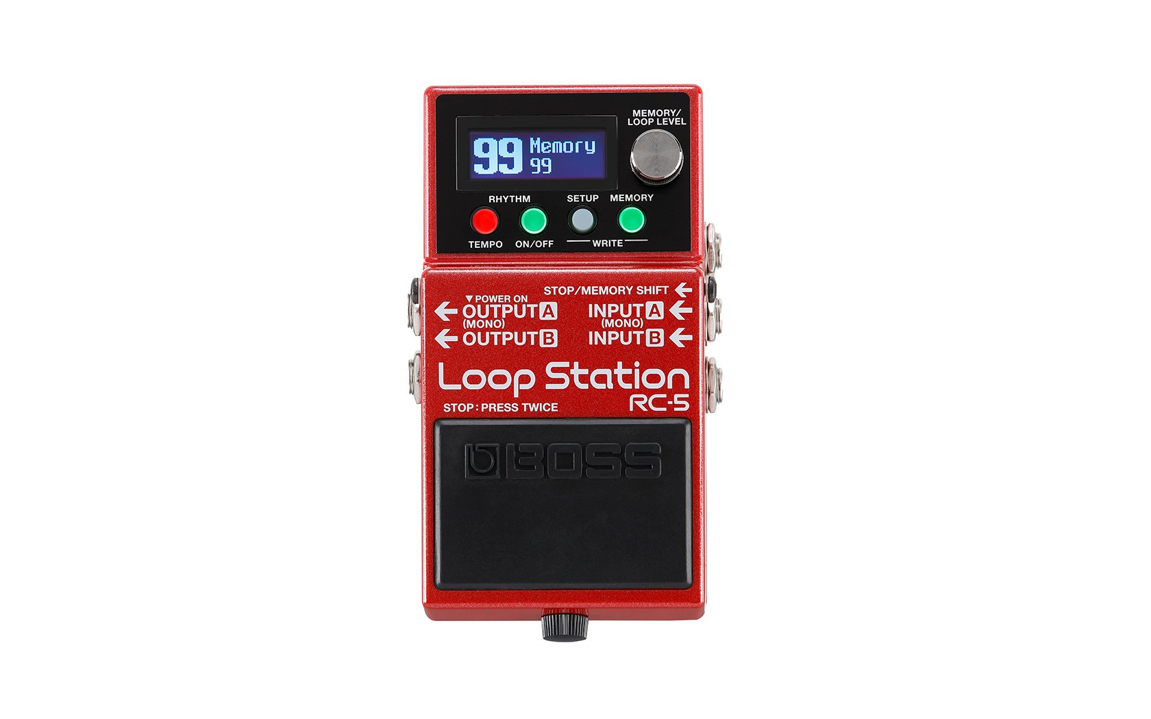 Boss RC-5 Loop Station Compact Phrase Recorder Pedal
