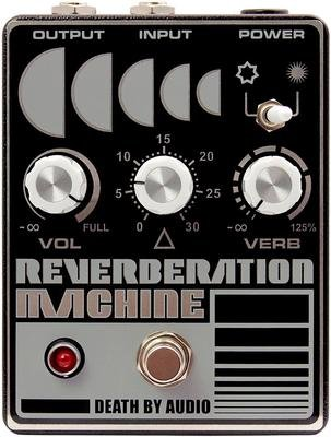 Death By Audio Reverberation Machine Reverb Pedal