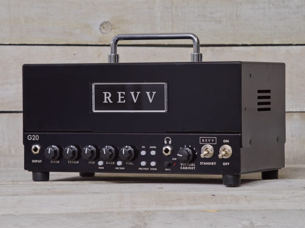 Revv Amplification G20 All-Tube 20W Head Black
