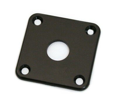 Allparts AP-0633-023 Gotoh Square Plastic Jackplate for Les Paul Black