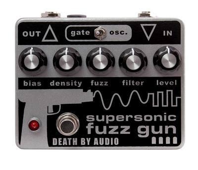 Death By Audio Supersonic Fuzz Gun Fuzz Pedal