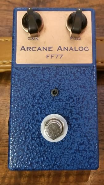 Arcane Analog FF77 Silicon Fuzz Face Hand Built on Perf-board
