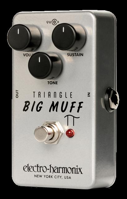 Electro-Harmonix Triangle Big Muff Reissue Fuzz