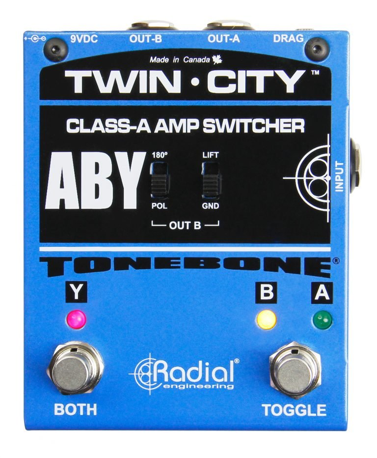Radial Twin-City Active Amp Switcher
