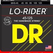 DR MH5-45 Lo-Rider Stainless Steel Hex Core Medium 5 String 45-125