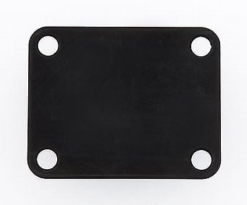 Allparts AP-0600-003 Gotoh Standard Neckplate Black