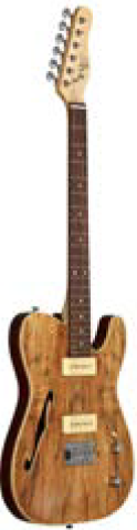 ELECTRIC-TELE SPALTED MAPLE