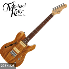 ELECTRIC-TELE P90'S SPALTED MAPLE
