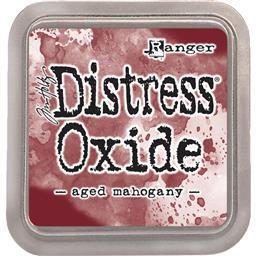 Tim Holtz Distress Oxide Pad-Aged Mahogany