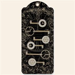 Shabby Chic Metal Clocks Keys