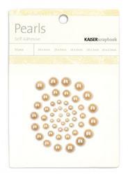 Self Adhesive Pearls - Chino