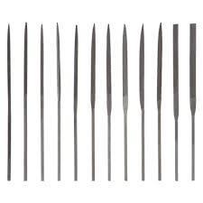 Mini Needlefile Set 12pc 4'
