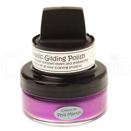 Metallic Gilding Polish - Purple Paradise