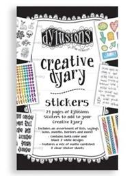 DYLUSIONS CREATIVE DIARY STICKER BOOK
