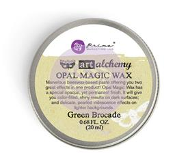 ART ALCHEMY OPAL MAGIC WAX GREEN BROCADE