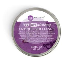 ART ALCHEMY ANTIQUE BRILLIANCE WAX AMETHYST MAGIC