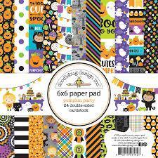 6 x 6 Paper Pad - Pumpkin Party