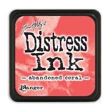 Mini Distress Pad - Abandoned Coral